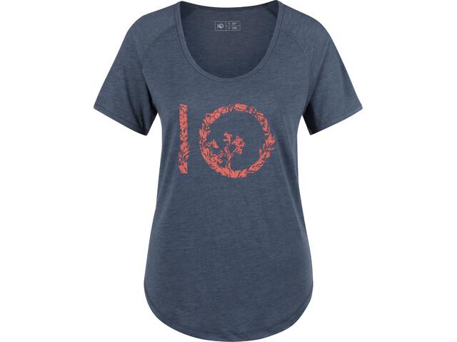 tentree Mangrove Ten Camiseta Mujer, dark denim
